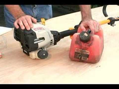 How To Use Maintain A Weed Eater Gas