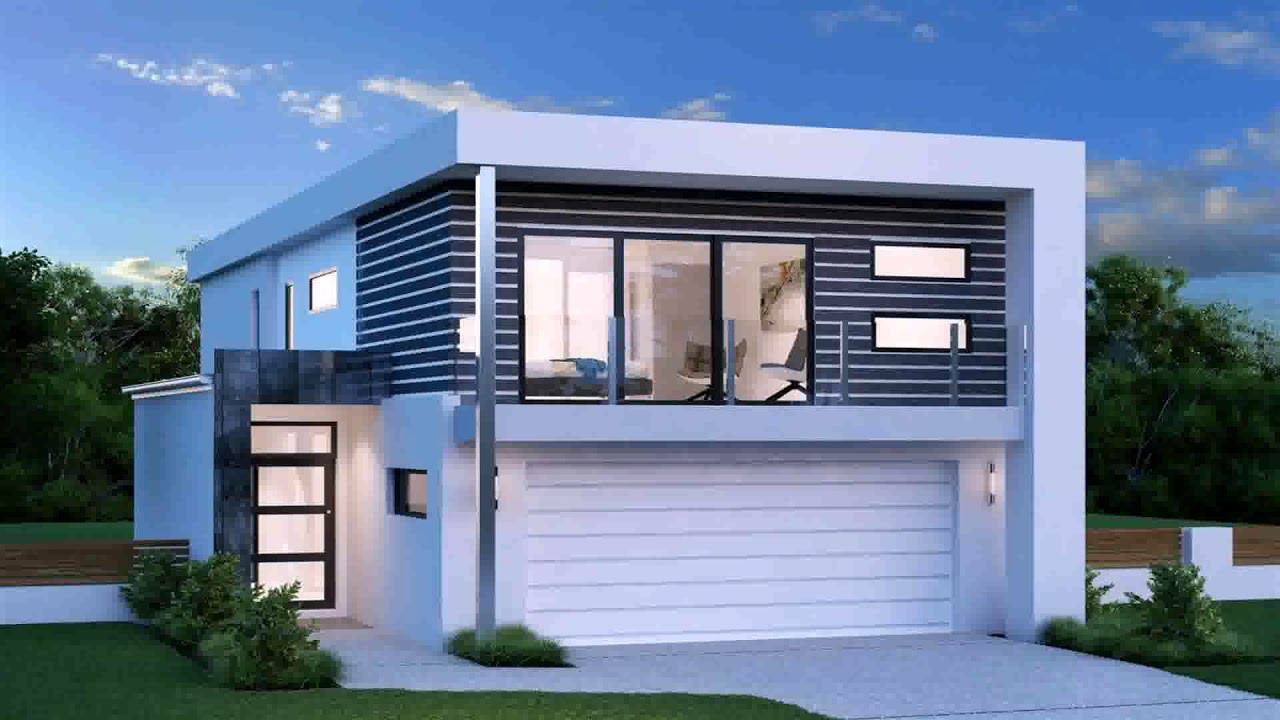 Modern double storey house plans in south africa