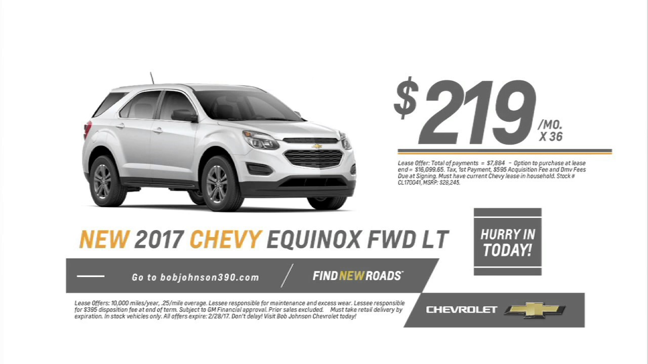 2017 chevy equinox 219 mo new from bob johnson chevrolet avon ny youtube. Cars Review. Best American Auto & Cars Review
