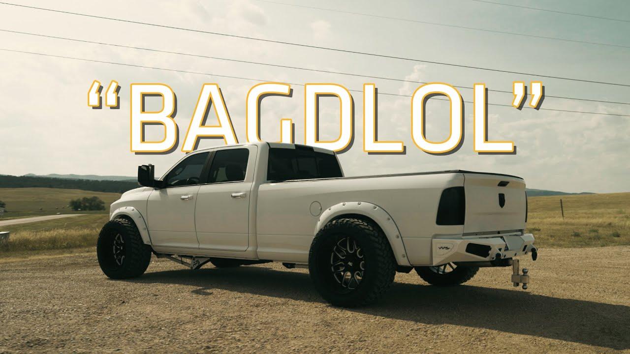 """BAGDLOL"" 4th Gen Ram Cummins | AccuAir (4K)"