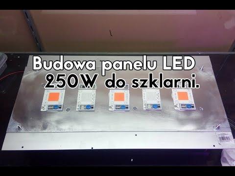 Budowa Panel Lampa Led 250 W Cob 230v Bloom Grow Do Szklarni Dla Roślin