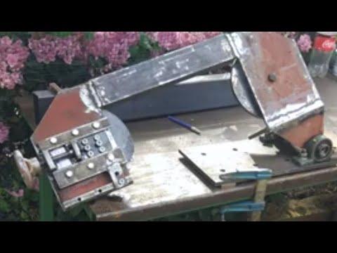 Mini masa üstü şerit testere (DIY metal cutting horizontal vertical band saw) p#1