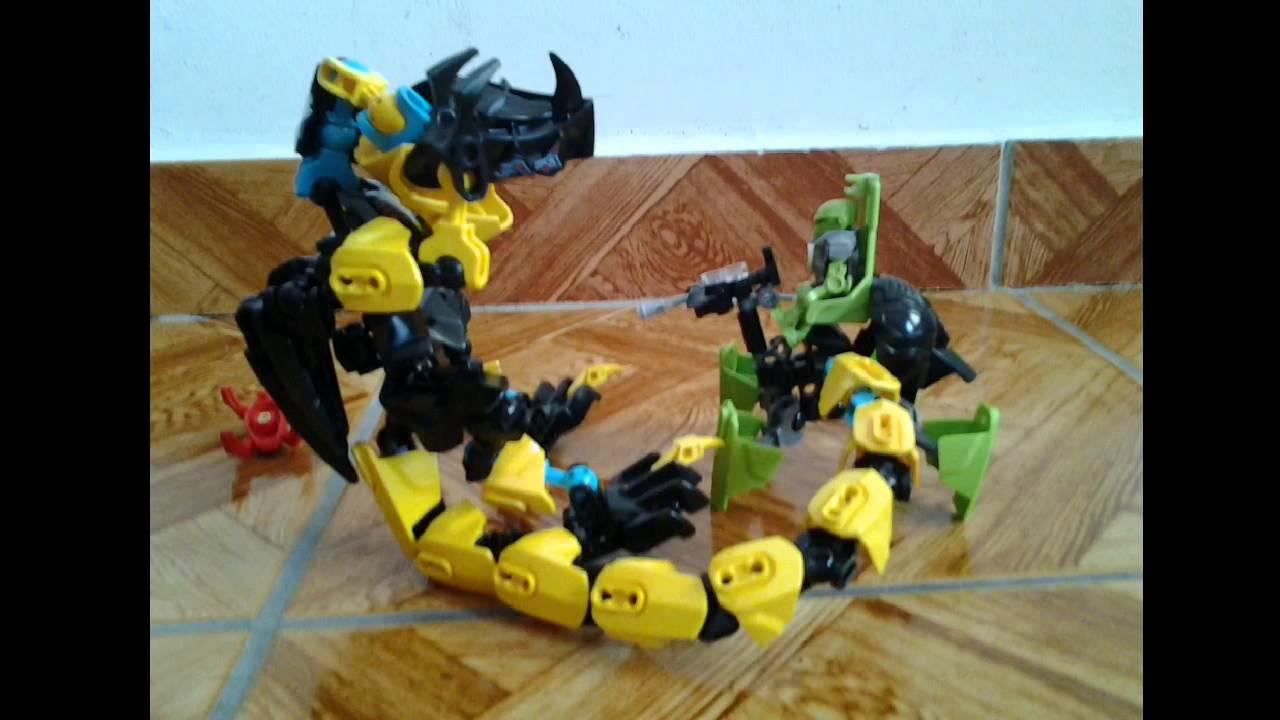 Lego Hero Factory Moc Raptor Beast Youtube