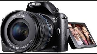 SAMSUNG NX20 описание и технические характеристики, лучшее для блогера YouTube