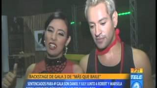 Backstage de gala 3 de Más Que Baile