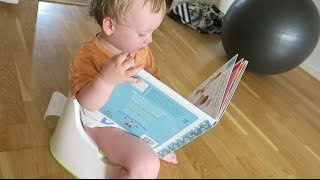 POTTY TRAINING DAY 2: POOP ON THE FLOOR (day 693)
