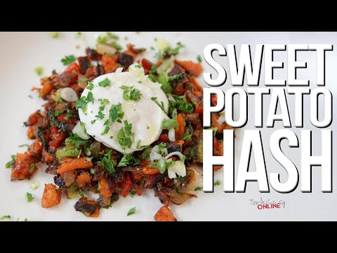 Easy Sweet Potato Hash | SAM THE COOKING GUY