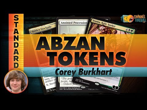 Channel Corey - Abzan Anointed Tokens (Deck Tech & Matches)