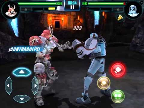 [Real Steel World Robot Boxing] WRB I 4to combate gigantes de acero