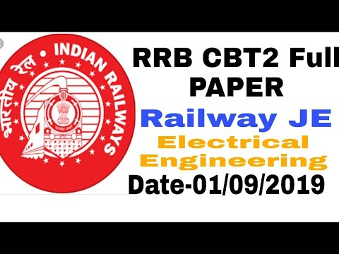 Download RRB CBT2 Electrical Question paper - arabfun Mp3 Audio