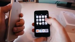 Розпакування iPhone 7 Gold і порівняння з iPod Touch першого покоління