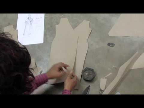 How to Make House Coat Pattern / Drafting part 3 of 4 hindi