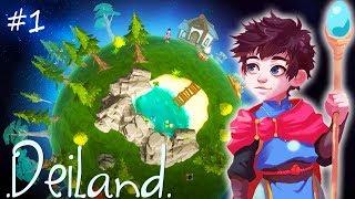 Выживание на СОБСТВЕННОЙ ПЛАНЕТЕ! Первый взгляд и обзор игры Deiland от Cool GAMES