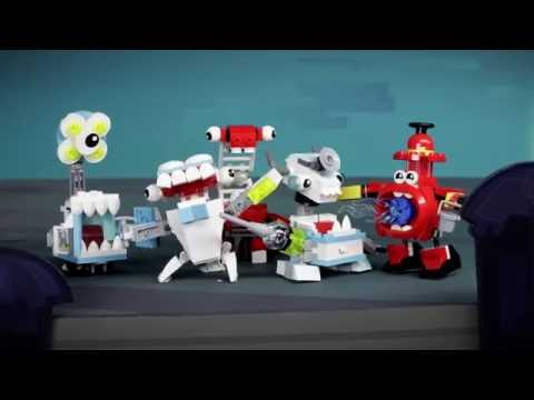 Attempted Bank Robbery - LEGO Mixels - Series 8 Stop Motion