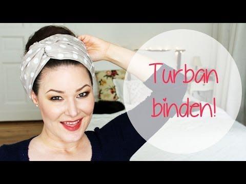 turban haarband binden 3 styles doovi. Black Bedroom Furniture Sets. Home Design Ideas