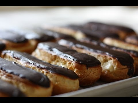 chocolate-eclairs-recipe-and-home-demonstration