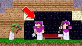 COMO É DENTRO DA PROTEÇÃO DE OBSIDIAN ?! - Minecraft BedWars