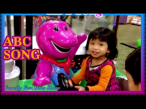 ABC Song Barney Train Ride Arcade Game Indoor Playground For Kids