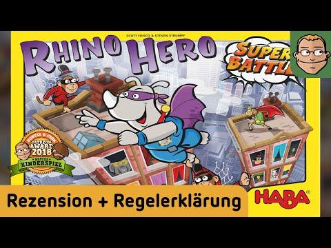Rhino Hero Super Battle - Kinderspiel - Review streaming vf