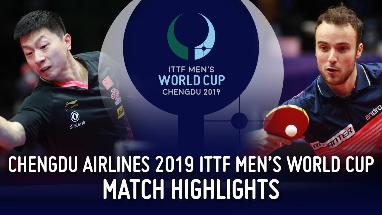 Download Ma Long vs Simon Gauzy | 2019 ITTF Men's World Cup Highlights (R16)