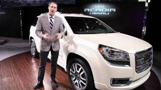 2013 GMC Acadia and Acadia Denali - 2012 Chicago Auto Show