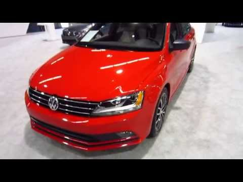 New 2016 Volkswagen Jetta 1.8T Sport - OC Auto Show, Anaheim, Orange County, California 10/16/15