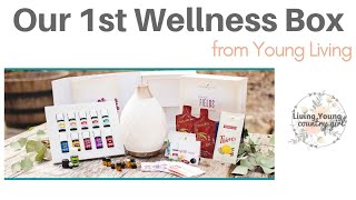 Our 1st Wellness Box from Young Living