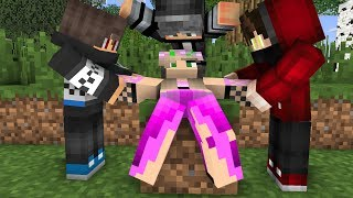 Cute girl and jack life 1   Minecraft Animations
