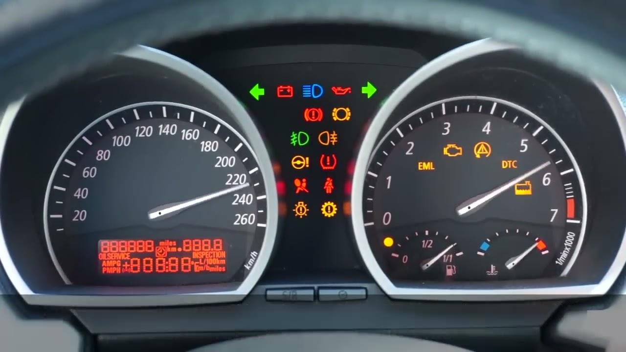 how to enter hidden menu in bmw z4 e85 e86 x3 e83 service test mode instrument cluster youtube [ 1280 x 720 Pixel ]