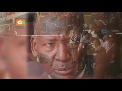 President Kenyatta, DP Ruto at Nkaissery requiem mass