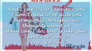 Shontelle ft. Akon - Stuck With Each Other (Instrumnetal w/Lyrics on screen) HQ