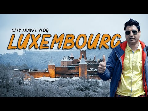 Luxembourg City Travel Vlog | Exploring Luxembourg | Europe Trip EP-21