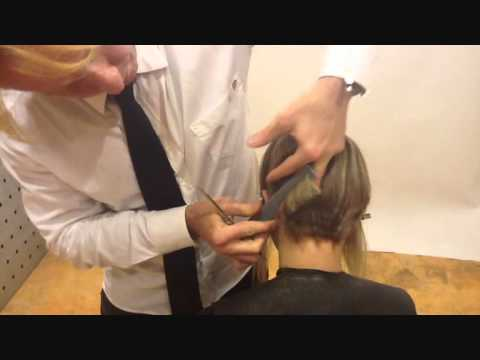 LONG TO VERY SHORT HAIRCUT- TAGLIO GRADUATED BOB IN BOLD COLLECTION ...