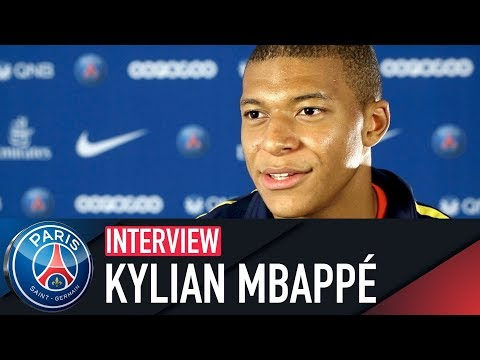 INTERVIEW KYLIAN MBAPPÉ