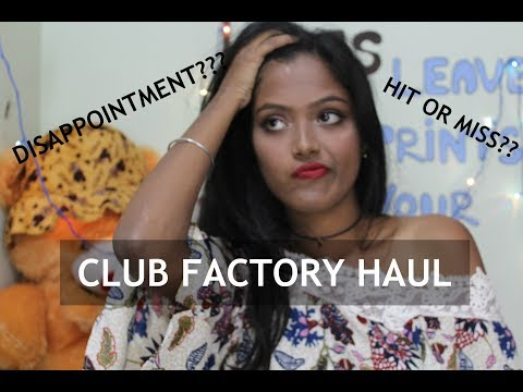 Club Factory Haul And Review || DISAPPOINTMENT?? REALLY CHEAP??? FAIR PRICE???