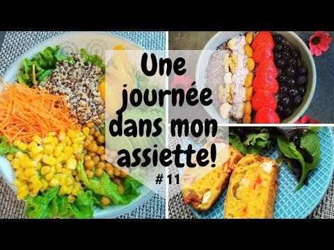 Une journée dans mon assiette #11 - UJDMA.FR