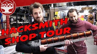 Hacksmith Shop Tour! (Livestreamed on the main channel)