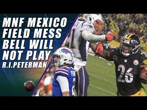 Le'Veon Bell, Nathan Peterman & Monday Night Football Mexico