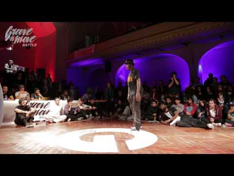 GROOVE'N'MOVE BATTLE 2015 - Popping quarter-final / Lemzo vs Poppin Prince