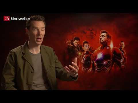 Benedict Cumberbatch AVENGERS: INFINITY WAR