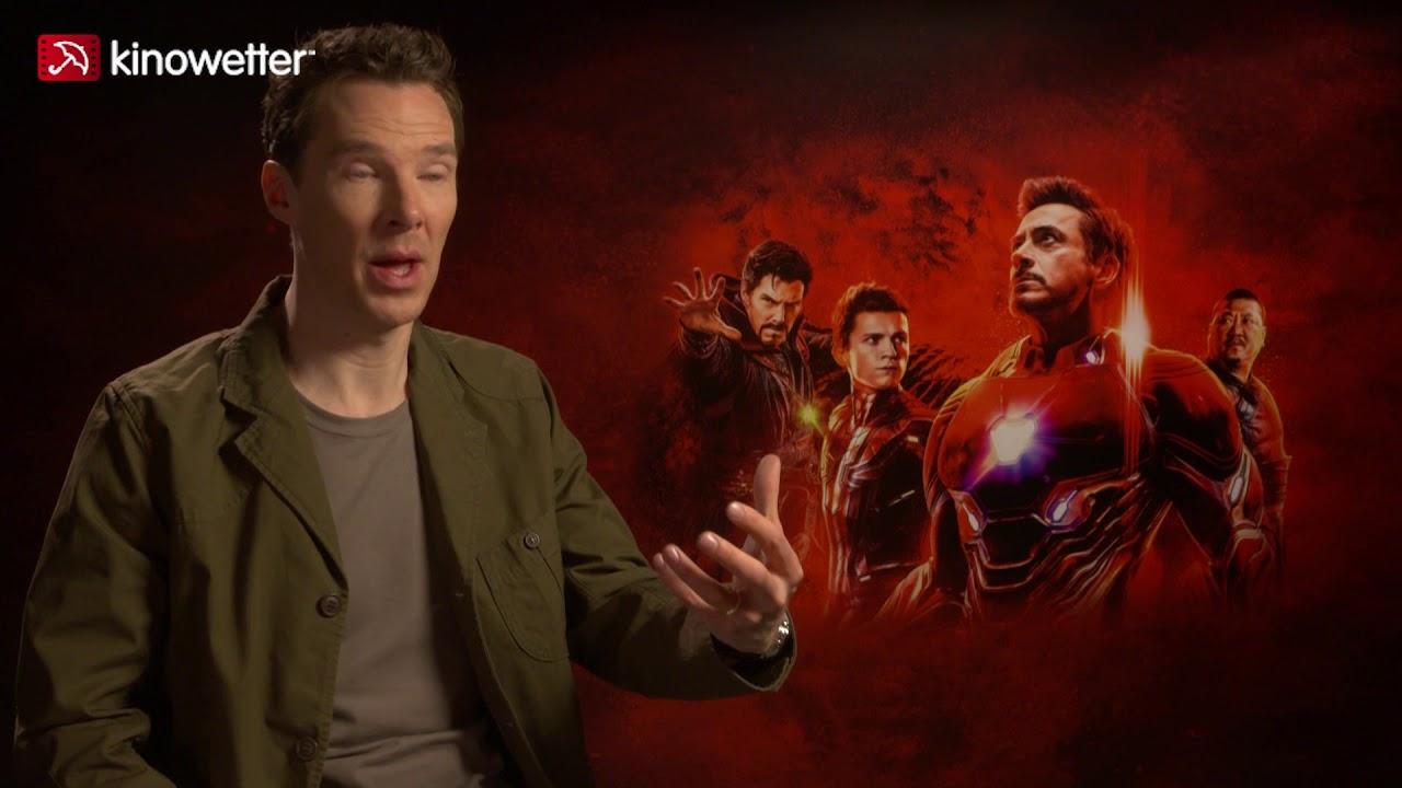 interview benedict cumberbatch avengers: infinity war - youtube