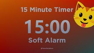 Hẹn giờ thiền 15 phút (với âm thanh báo động nhẹ) @TimerClockAlarm screenshot 3