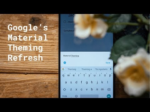 Google's Material Theme design refreshes - Updated Apps!