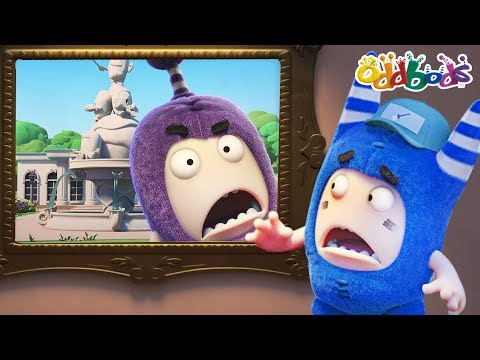Oddbods - GALLERY GOOF-UP | NEW Full Episodes | Funny Cartoons