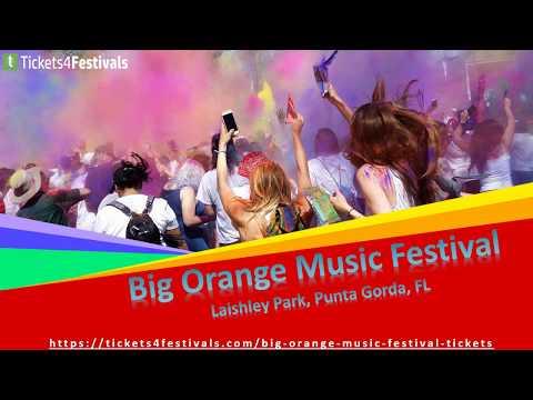 Big Orange Music Festival Tickets & Lineup