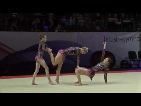 East Kilbride - Bronze - Senior Womens Group - Acrobatic Gymnastics 2017
