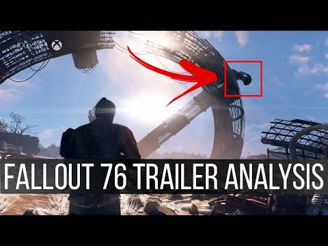 Fallout 76 Official Trailer Breakdown - Multiplayer, New Creatures, Enclave?