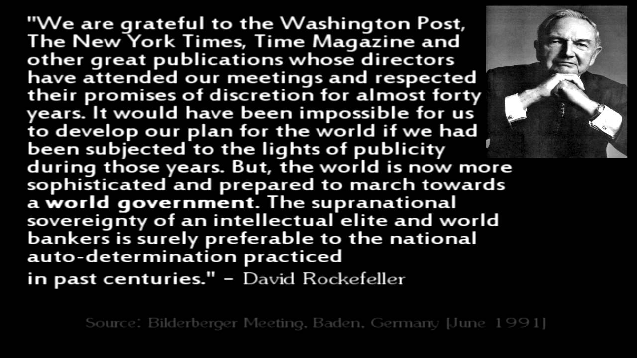 Etonnant Rockefeller   New World Order Quotes   YouTube