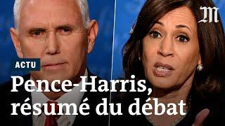 Pence vs Harris : résumé du débat des vice présidents pour l'élection présidentielle US