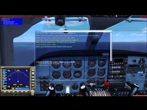 Flight from Princess Juliana Airport to St. Barthelemy Airport [HD]